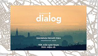 TElőadó: Szerdahelyi-Németh Klára TÉR_KÖZ a Budapest DIALOGON