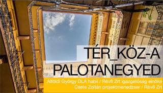 Előadó: Alföldi György DLA TÉR_KÖZ - A Palotanegyed
