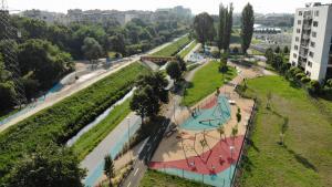 Rákos-patak Béke utca - Göncöl utca közötti szakaszának komplex közparki felújítása