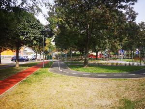 KRESZ park kialakítása Kispesten
